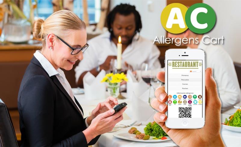 """""""Allergens Cart"""" una app gratuita que ayudará a los restaurantes a cumplir con la normativa de alérgenos."""